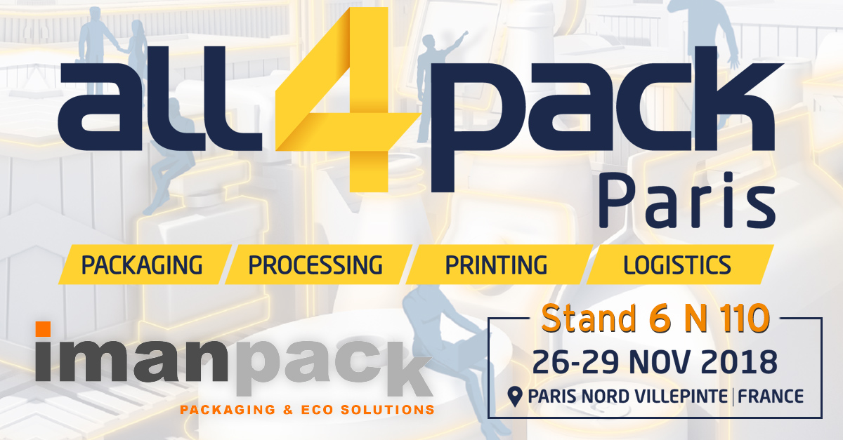 Imanpack will take part in All4Pack Paris