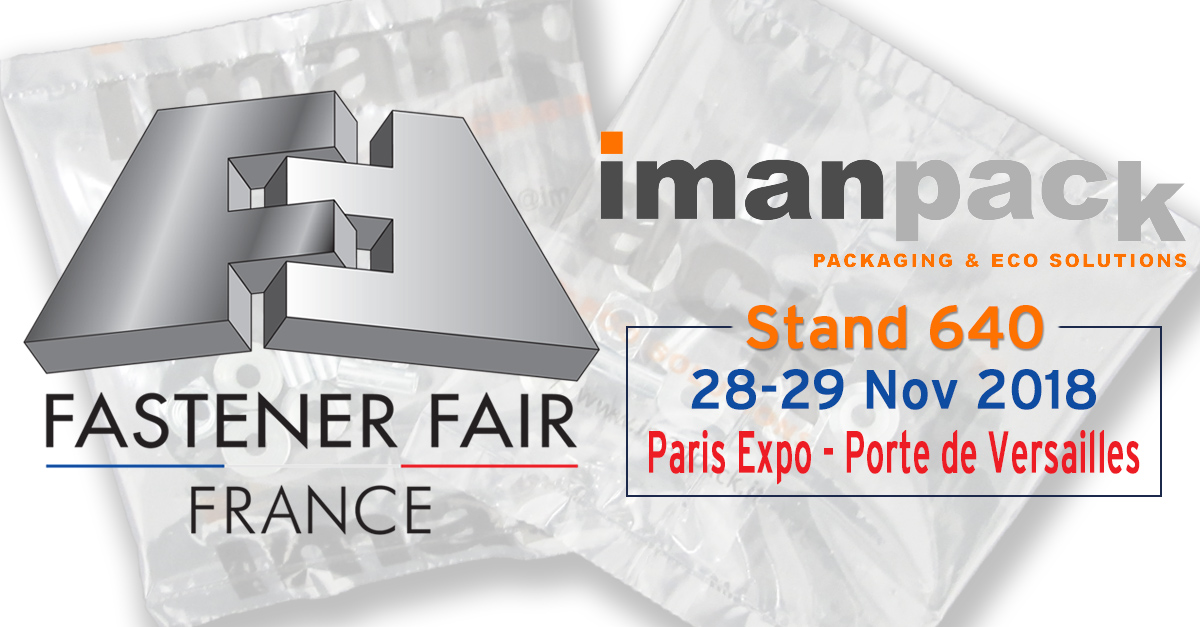 Imanpack will take part in Fastener Fair France 2018