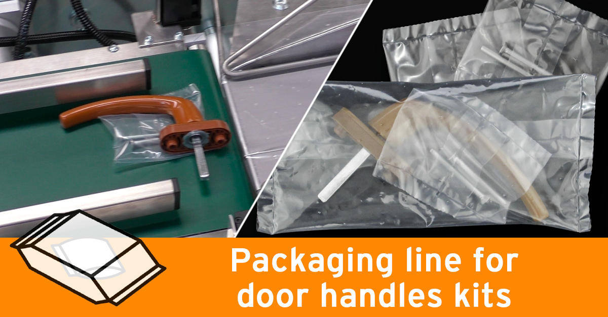Video - Packaging line for door handles
