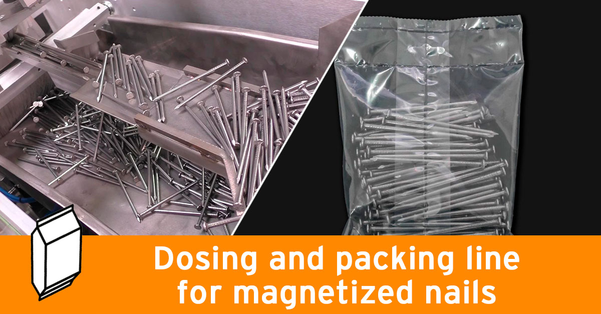 System for magnetized nails