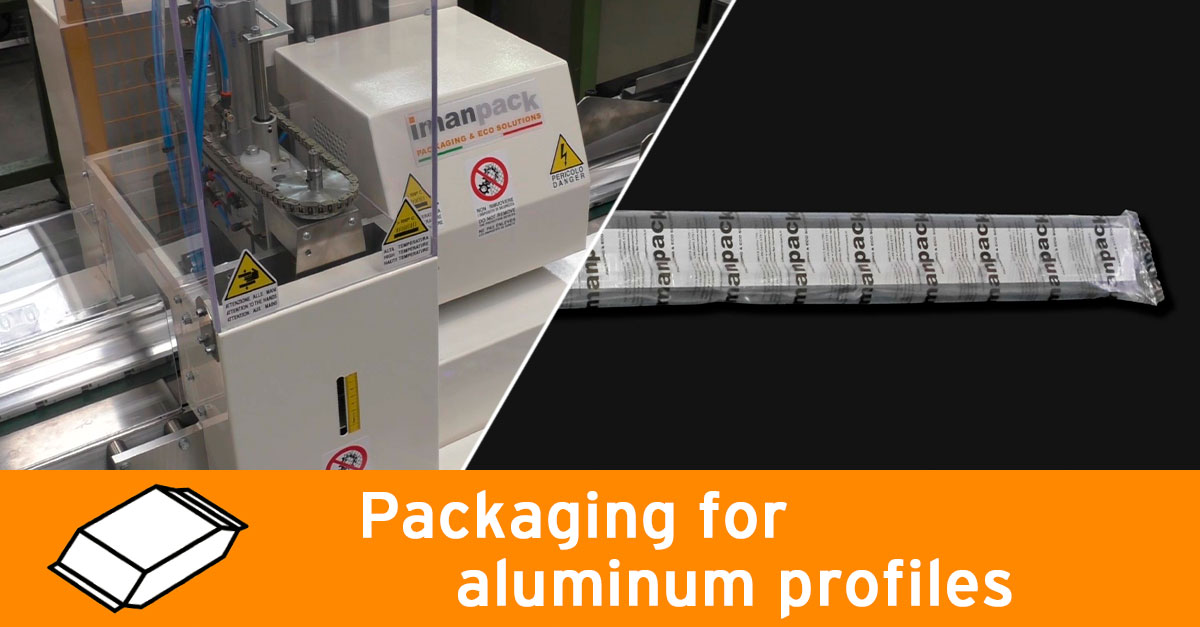 Packaging for aluminum profiles
