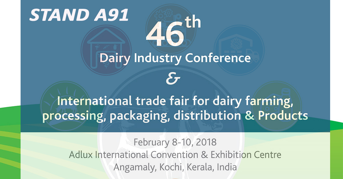 2018 Dairy Industry Congress INDIA in progress with our local Agent PYLOFF