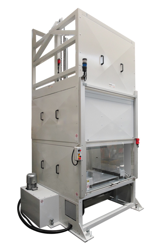 Loading of products in feeding systems