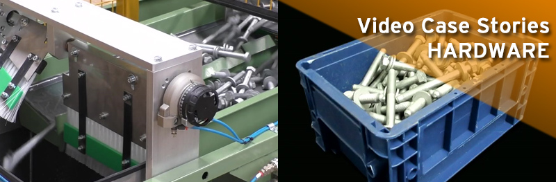 HARDWARE Video Case Stories Pesatrice MCWS7 e rulliere per KLT