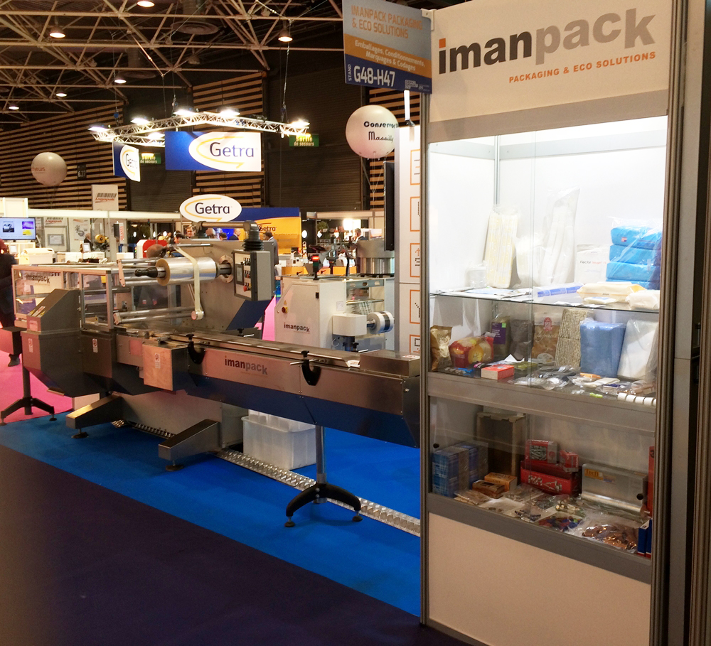 We are presenting our innovative packaging machines in fuction, at our stand 6-G48-H47.
