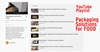 Playlist YouTube di ImanpackItaly - Soluzioni di packaging per ALIMENTI