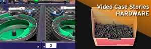 HARDWARE Video Case Stories - MCWS9 and Conveyor belts for box change